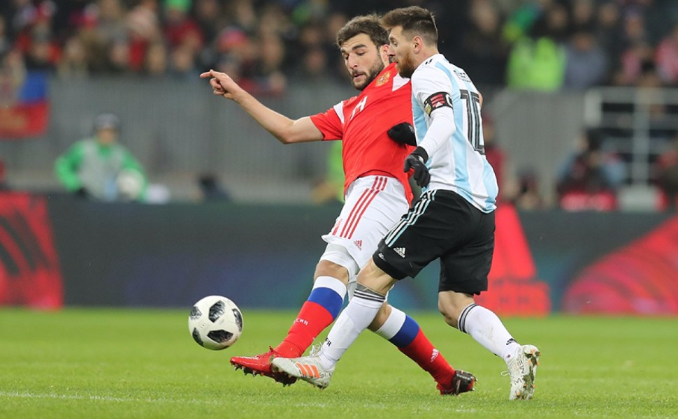 Аргентина одержала победу над сборной России со счетом 1:0