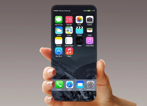Появился рендер iPhone 8 вчехле