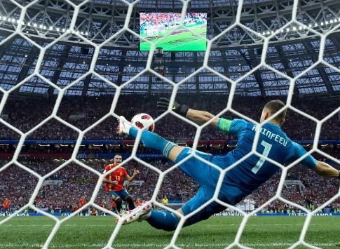 Матч 1/8 финала Россия – Испания вошел в тройку самых рейтинговых трансляций