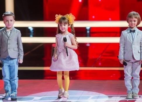 Не пропустите шоуГолос. Дети 13 и 20 апреля в 21:30 на Первом канале
