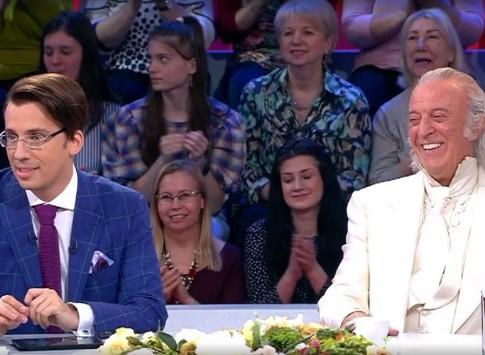 Шоу «Сегодня вечером», выпуск от 14.04.2018: Илья Резник, описание, Первый канал