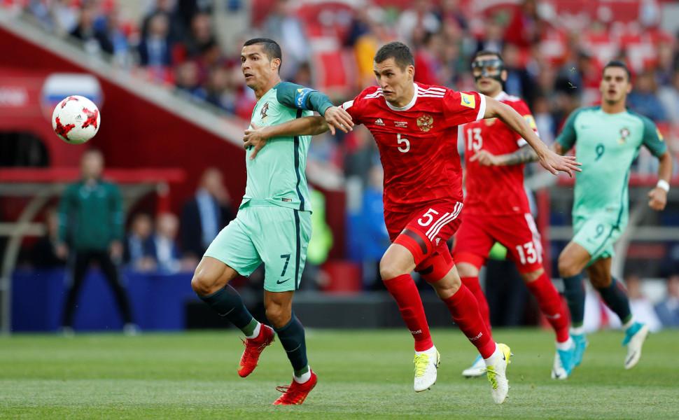 Решающий матч для нашей сборной наКубке конфедераций FIFA: Российская Федерация против Мексики